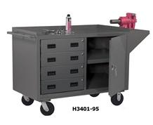 MOBILE BENCH CABINETS